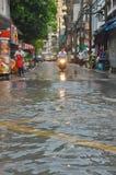 Πλημμύρα στη Μπανγκόκ 2012 Στοκ Εικόνα