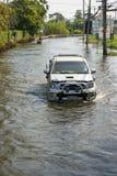 πλημμύρα Ταϊλάνδη Στοκ Φωτογραφία
