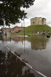 Πλημμύρες της Υόρκης - Sept.2012 - UK Στοκ Εικόνα
