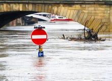 πλημμύρες Υόρκη Στοκ Εικόνες