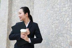 Πληρεξούσιος - νέος ασιατικός δικηγόρος γυναικών Στοκ εικόνα με δικαίωμα ελεύθερης χρήσης