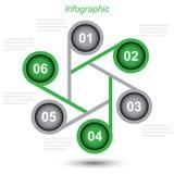 Πληροφορία-γραφικό πρότυπο σχεδίου ελεύθερη απεικόνιση δικαιώματος