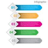 Πληροφορία-γραφικό πρότυπο σχεδίου διανυσματική απεικόνιση