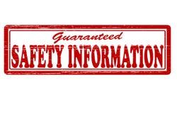 Πληροφορίες ασφάλειας ελεύθερη απεικόνιση δικαιώματος