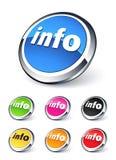 πληροφορίες εικονιδίων ελεύθερη απεικόνιση δικαιώματος