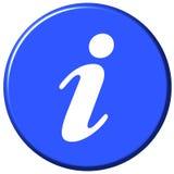 πληροφορίες κουμπιών Στοκ φωτογραφίες με δικαίωμα ελεύθερης χρήσης