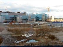 πληρωμένος η Μόσχα χώρος στάθμευσης domodedovo αερολιμένων Εσωτερική άποψη του διεθνούς τερματικού Στοκ Εικόνες