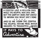 Πληρώνει για να διαφημίσει απεικόνιση αποθεμάτων