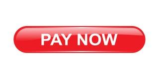 Πληρώστε τώρα το κουμπί ελεύθερη απεικόνιση δικαιώματος