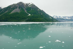 πλησιάζοντας παγετώνας της Αλάσκας hubbard seward Στοκ φωτογραφία με δικαίωμα ελεύθερης χρήσης