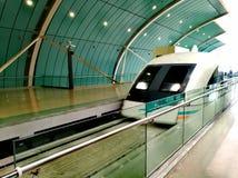 Πλησιάζοντας σταθμός τραίνων της Σαγκάη MagLev Στοκ εικόνες με δικαίωμα ελεύθερης χρήσης