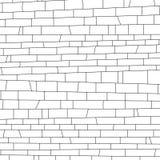 πλινθοδομής αφηρημένο μαύρο λευκό σύστασης απεικόνισης σχεδίου Στοκ φωτογραφία με δικαίωμα ελεύθερης χρήσης