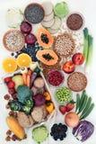Πλούσια σε ίνες υγιεινή διατροφή στοκ φωτογραφίες με δικαίωμα ελεύθερης χρήσης