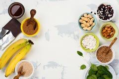 Πλούσιοι τροφίμων του μαγνήσιου Στοκ εικόνα με δικαίωμα ελεύθερης χρήσης