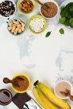 Πλούσιοι τροφίμων του μαγνήσιου Στοκ Εικόνες