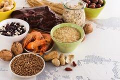 Πλούσιοι τροφίμων του μεταλλεύματος χαλκού Στοκ Εικόνες