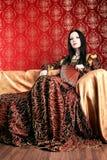 πλούσιοι φορεμάτων Στοκ φωτογραφία με δικαίωμα ελεύθερης χρήσης
