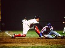 Πλούσιο Gedman Boston Red Sox Στοκ Εικόνες