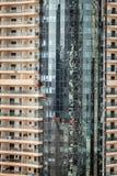 Πλυντήρια παραθύρων του Ντουμπάι Στοκ Εικόνα