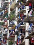 πλυντήριο Μαλαισία διαμερισμάτων Στοκ Εικόνα