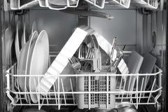πλυντήριο πιάτων Στοκ Εικόνα