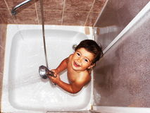 πλυσίματα ψυχής παιδιών Στοκ Εικόνα