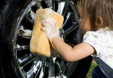 πλύση αυτοκινήτων Στοκ Φωτογραφίες