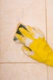πλύση κεραμιδιών Στοκ φωτογραφία με δικαίωμα ελεύθερης χρήσης
