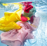 πλύση μηχανών ενδυμάτων Στοκ φωτογραφία με δικαίωμα ελεύθερης χρήσης