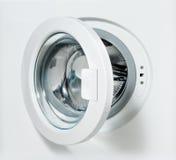 πλύση μηχανών πορτών Στοκ Φωτογραφίες