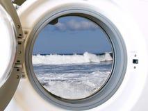 πλύση μηχανών eco στοκ εικόνες
