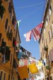 πλύση της Βενετίας ημέρας Στοκ φωτογραφία με δικαίωμα ελεύθερης χρήσης
