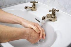 πλύση χεριών Στοκ φωτογραφία με δικαίωμα ελεύθερης χρήσης