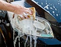 πλύσιμο αυτοκινήτων Στοκ φωτογραφία με δικαίωμα ελεύθερης χρήσης