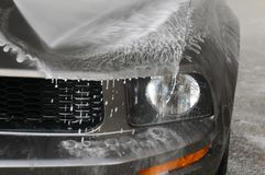 πλύσιμο αυτοκινήτων Στοκ εικόνα με δικαίωμα ελεύθερης χρήσης