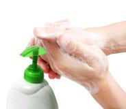 πλύσιμο χεριών Στοκ φωτογραφίες με δικαίωμα ελεύθερης χρήσης
