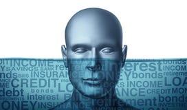 πνίξιμο χρέους απεικόνιση αποθεμάτων