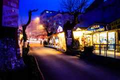 Πνευματική πόλης οδός παραλιών Στοκ φωτογραφία με δικαίωμα ελεύθερης χρήσης