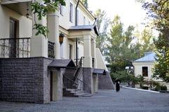 Πνευματικός ορθόδοξος simanar στο Κίεβο Pechersk Lavra Στοκ Φωτογραφία