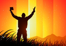 πνευματικότητα ελευθε απεικόνιση αποθεμάτων