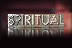 Πνευματικό Letterpress Στοκ Εικόνα