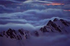 πνεύματα βουνών Στοκ εικόνα με δικαίωμα ελεύθερης χρήσης