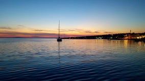 πνεύμα θάλασσας πανιών περιπέτειας κάτω Στοκ Εικόνες