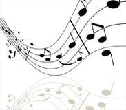 πνεύμα μουσικής Στοκ Εικόνες