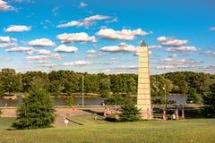 Πνεύμα του αμερικανικού μνημείου υπηκοότητας - οριζόντιου στοκ φωτογραφία