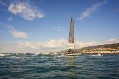 Πνεύμα του νικητή βαρκών Portopiccolo του regatta 49° Barcolana στοκ εικόνα
