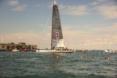 Πνεύμα του νικητή βαρκών Portopiccolo του regatta 49° Barcolana στοκ φωτογραφία