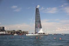 Πνεύμα του νικητή βαρκών Portopiccolo του regatta 49° Barcolana στοκ εικόνες
