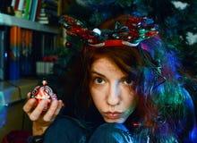 πνεύμα santa Χριστουγέννων noel στοκ εικόνες