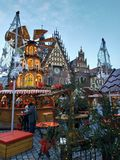 πνεύμα santa Χριστουγέννων noel στοκ εικόνες με δικαίωμα ελεύθερης χρήσης